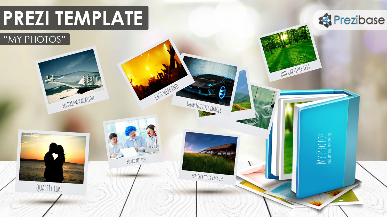 photo image gallery slideshow prezi template
