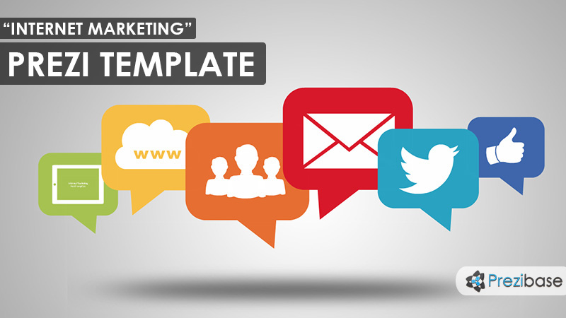 internet marketing prezi template
