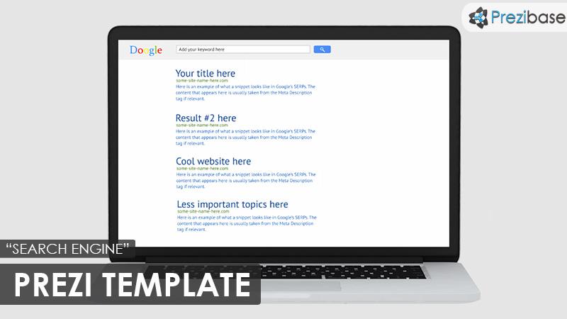 SEO marketing prezi template google