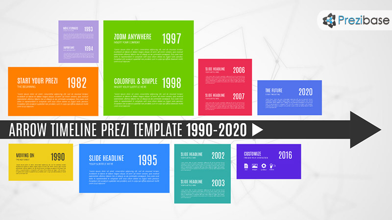Graphics for corporate cool timeline graphics graphicsbuzz arrow timeline history path colorful creative path prezi template toneelgroepblik Choice Image