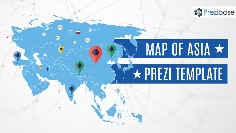 World map prezi templates prezibase map of asia prezi template maxwellsz