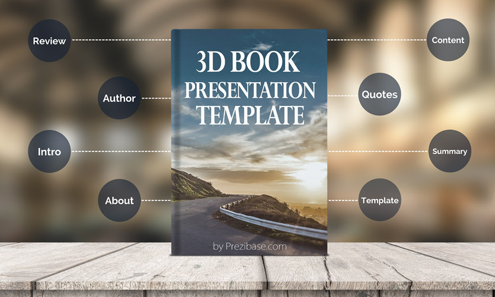 book reading school prezi template