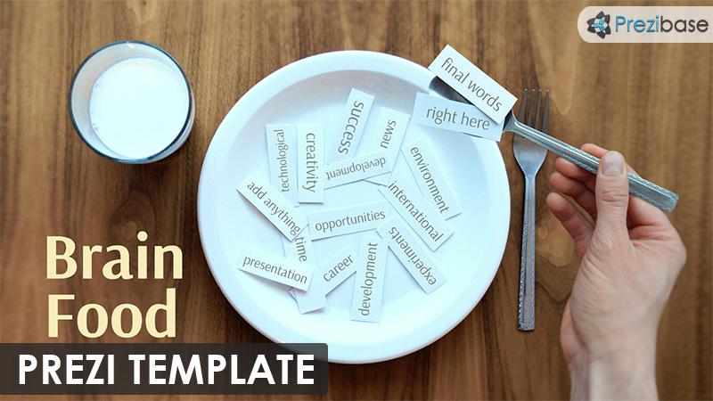 cool impressive innovative ideas keywords marketing prezi template