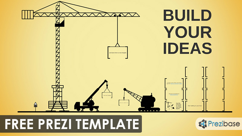 Build your ideas prezi template prezibase for Build best construction