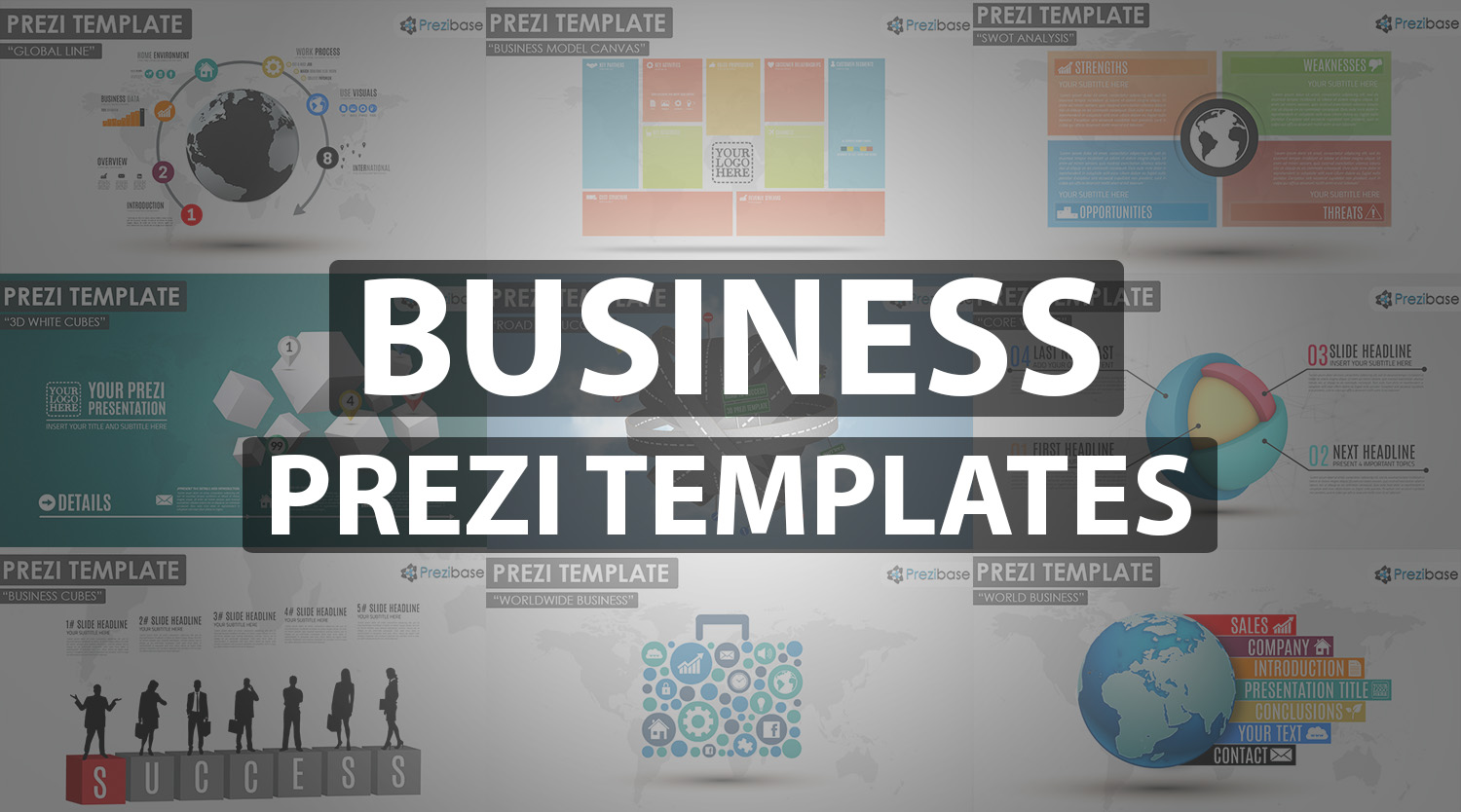 business prezi template professional company presentation