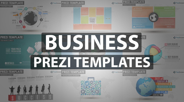 business prezi template professional company presentation