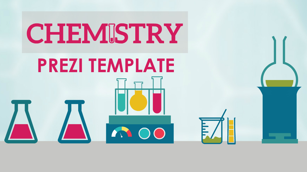 chemistry and science prezi template laboratory