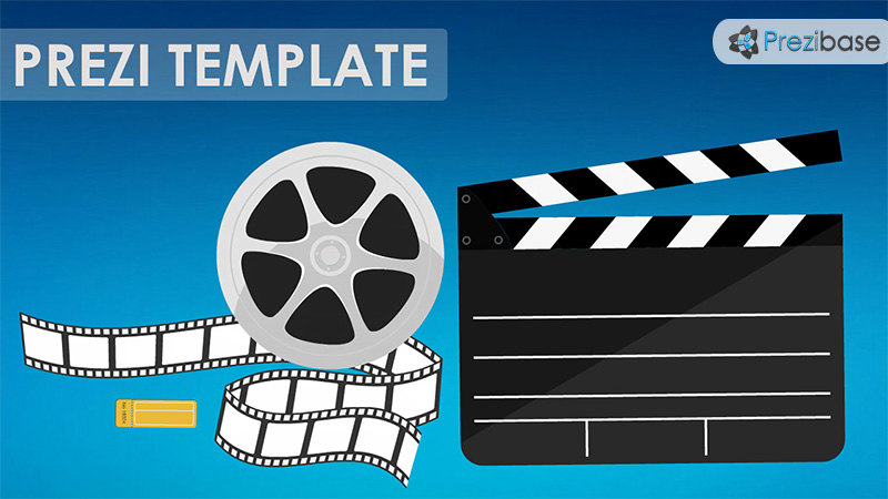 Cinema Prezi Template  Prezibase