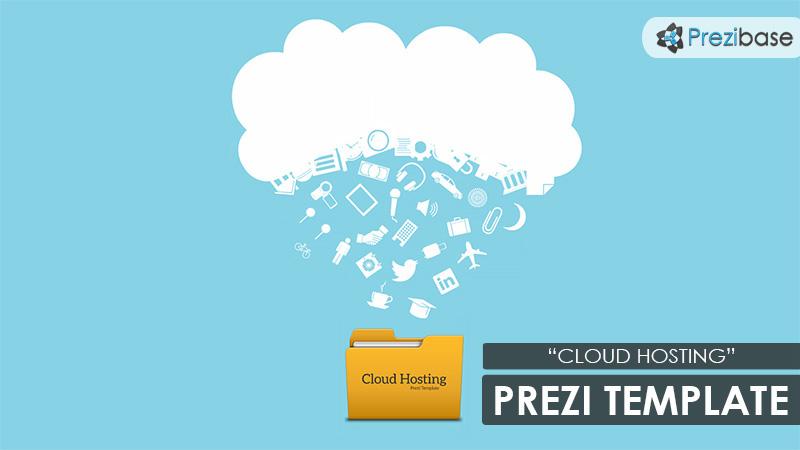 Cloud Hosting Prezi Template