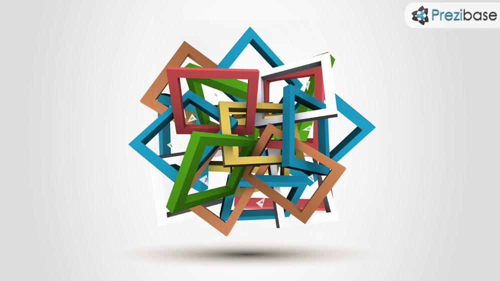 Tangled 3d Frames Prezi Template Prezibase