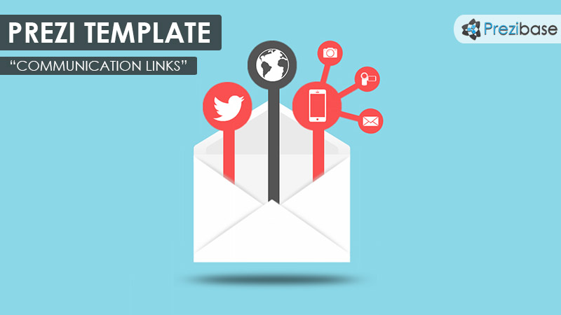 Communication Links Prezi Template | Prezibase