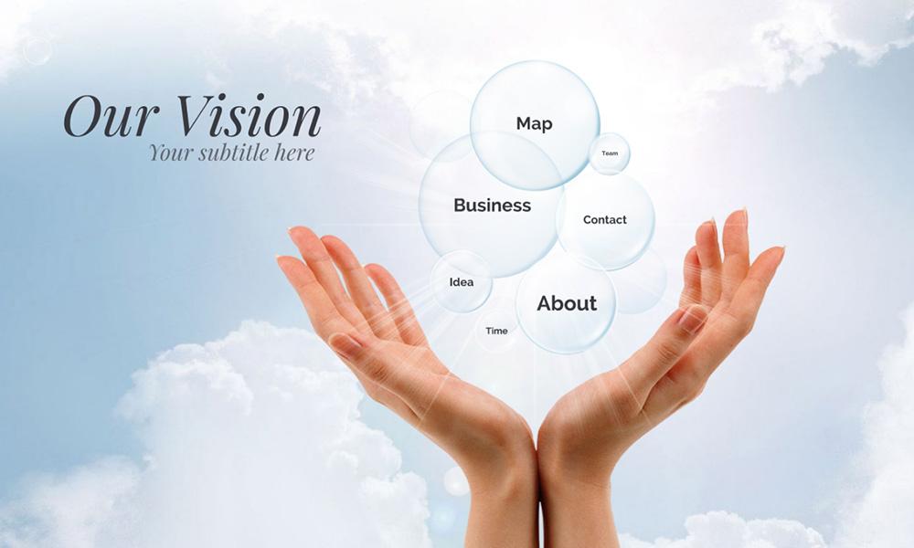Company business vision prezi next presentation template