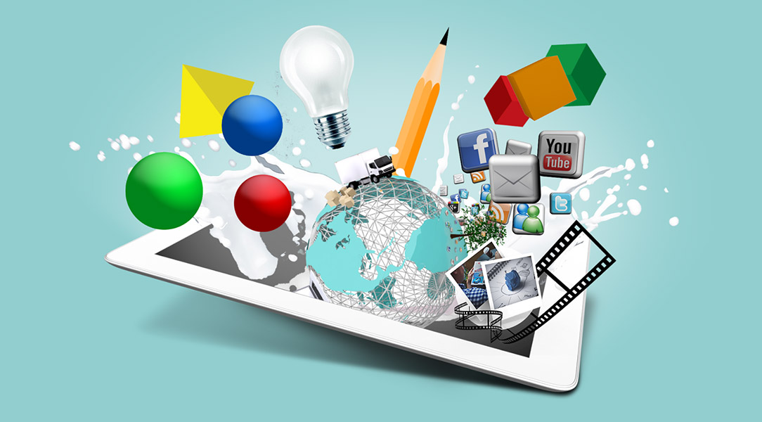 3d creative best design presentation template