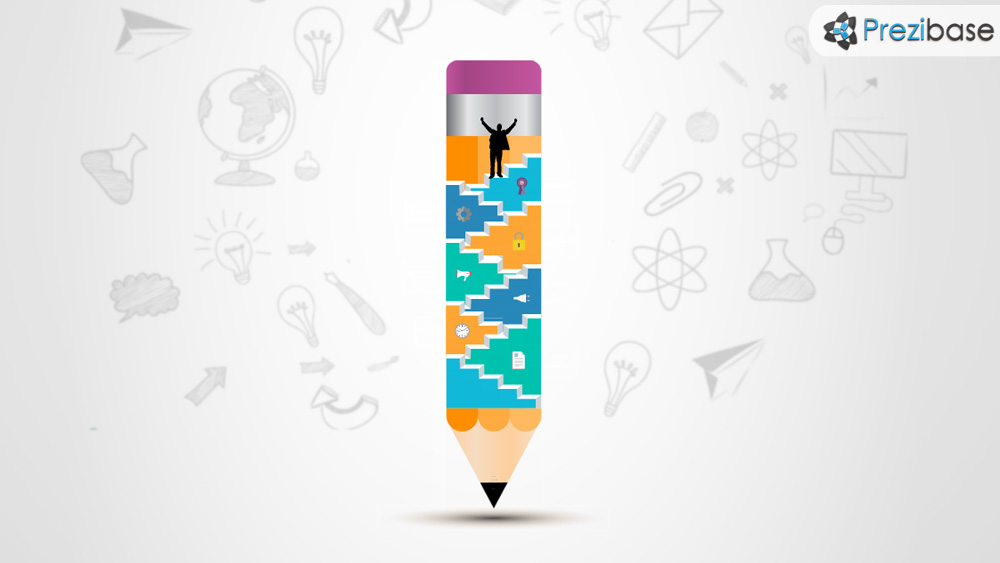 creative steps prezi template
