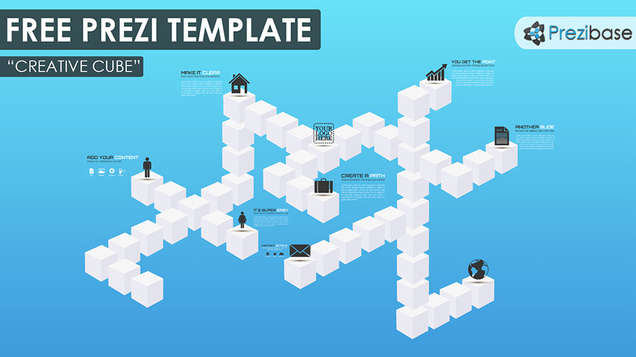 creative cubes free 3d a simple yet very powerful free prezi template ...