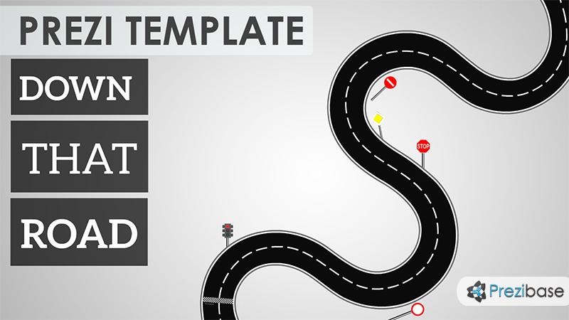 down that road prezi template