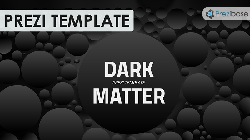 dark matter space science cosmos prezi template