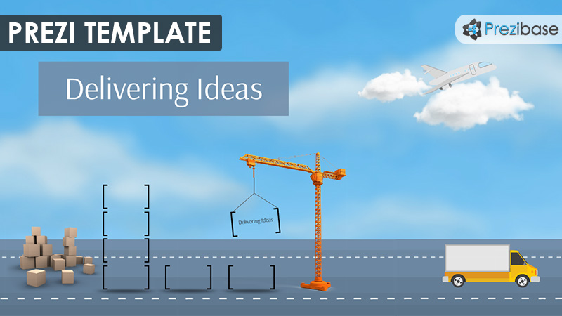 transport delivery ideas shipping container prezi template