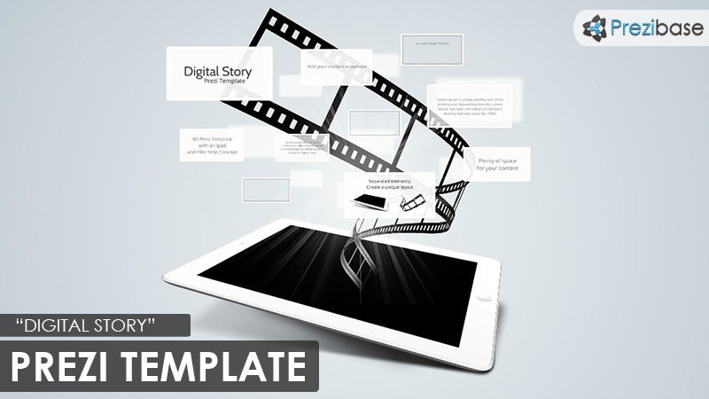 digital storytelling ipad prezi template film movie