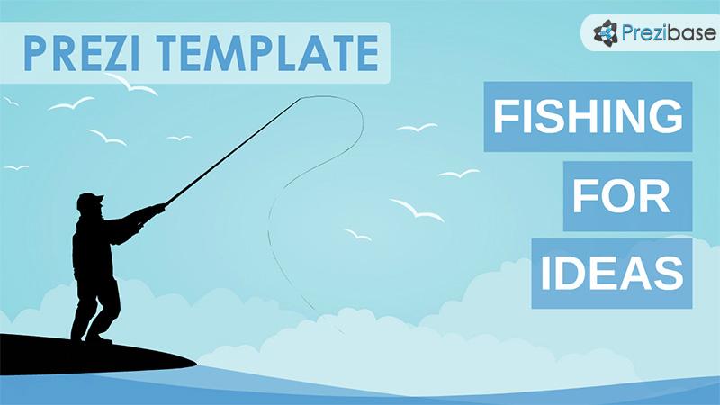 fishing ideas prezi template