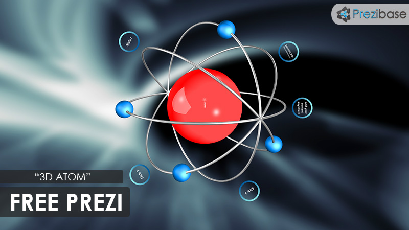 free atom 3d prezi template