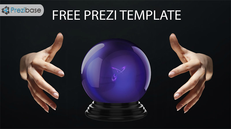 free animated fortune teller prezi template