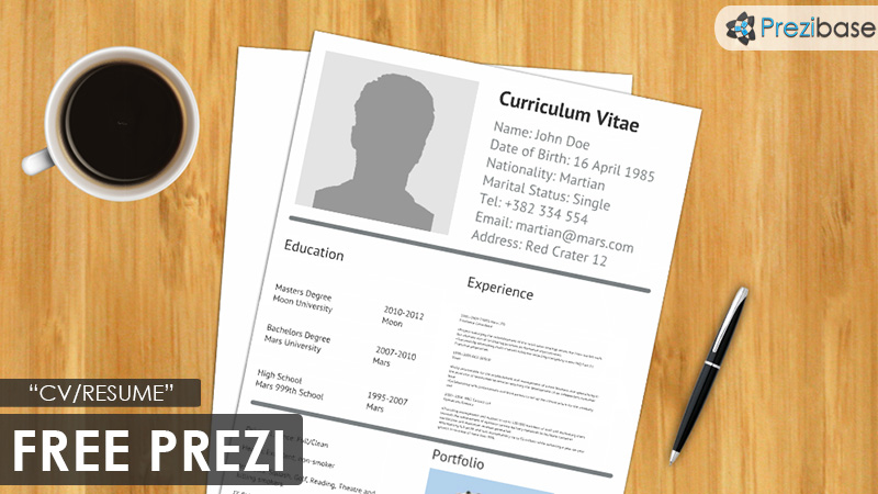 Resume powerpoint template free download feast your eyes on best free presentation free download powerpoint templates toneelgroepblik Image collections