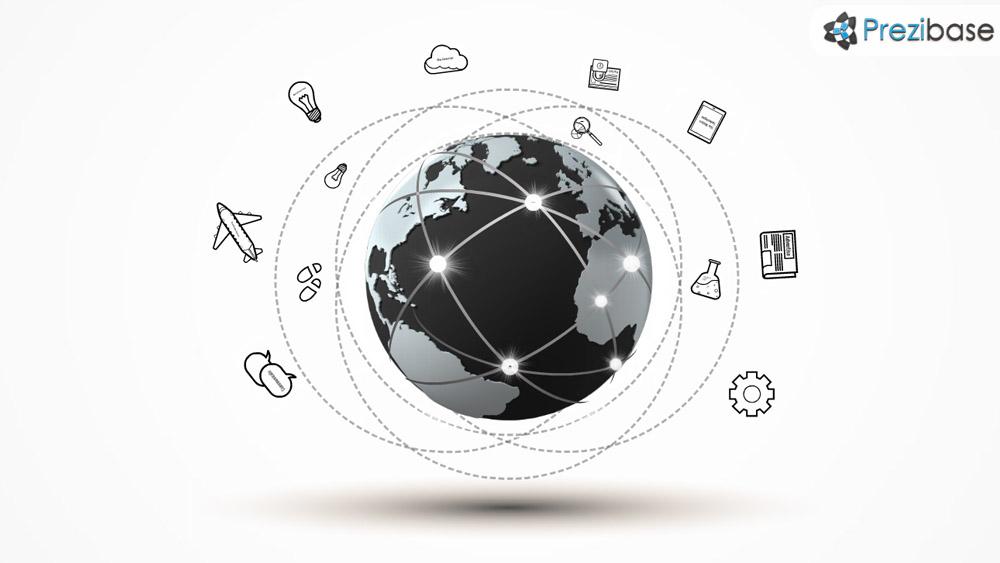 Going global making world business prezi presentation template