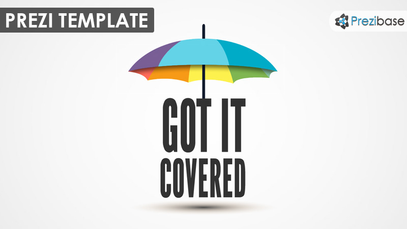 Got it Covered Prezi Template – Umbrella Template