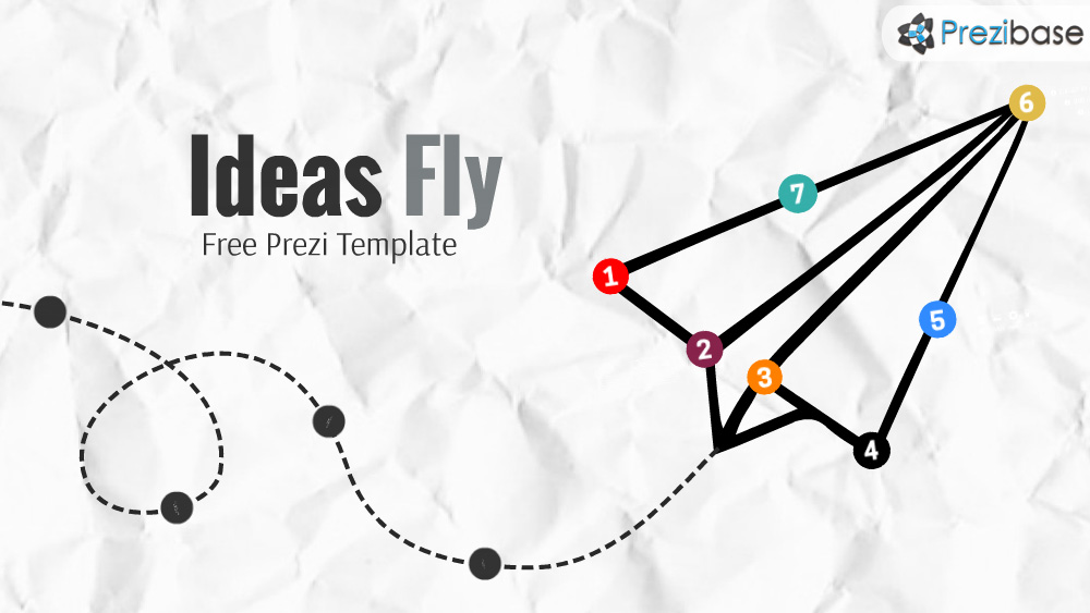 Free paper airplane ideas that fly prezi template