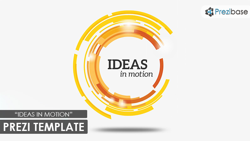ideas in motion animated circle impressive prezi template