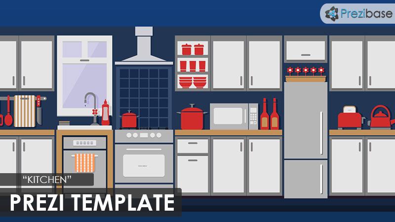 kitchen cooking prezi template