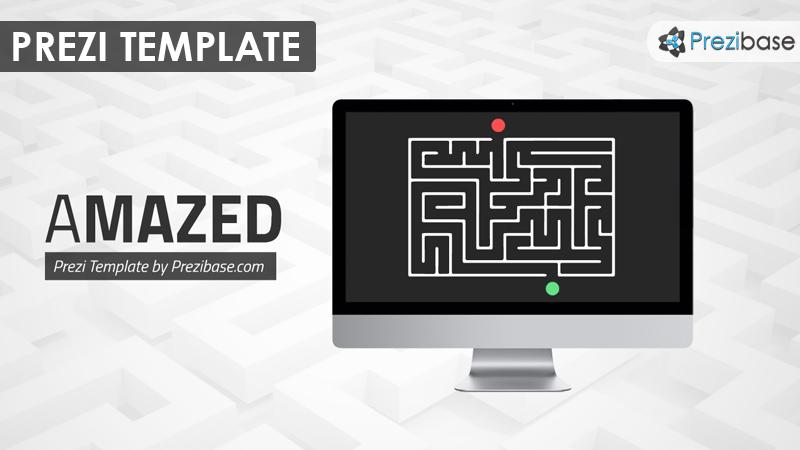 maze labyrinth imac game prezi template