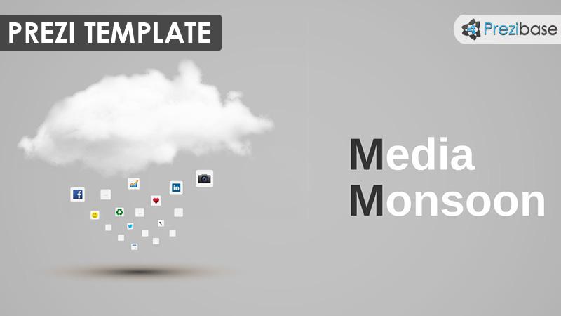 media monsoon 3d cloud data prezi template