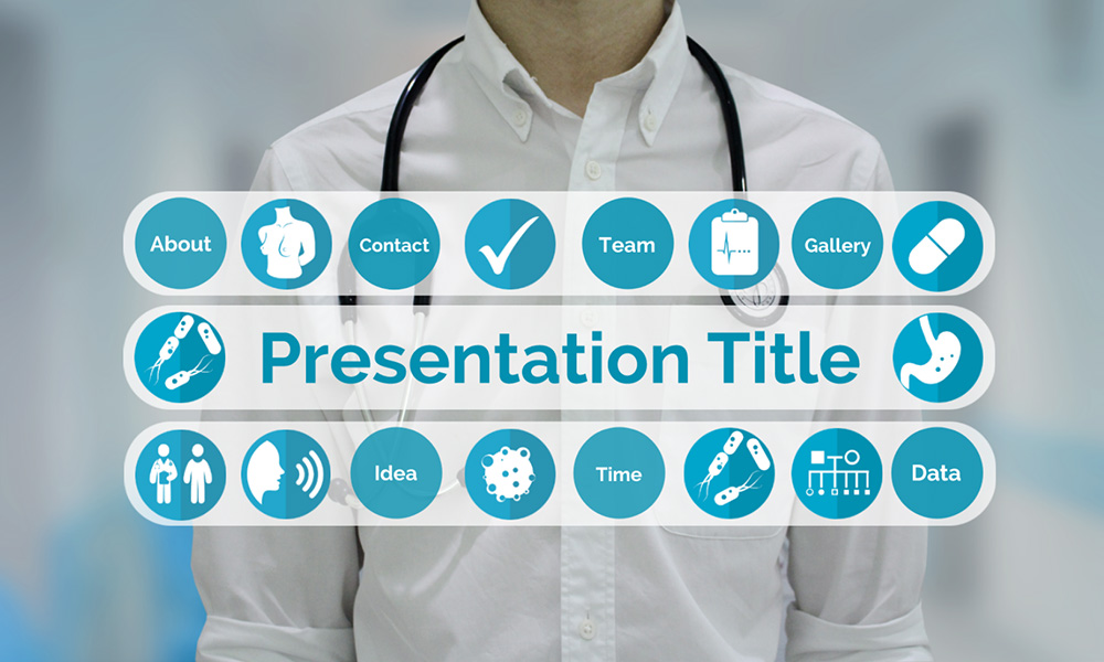 medical presentation background