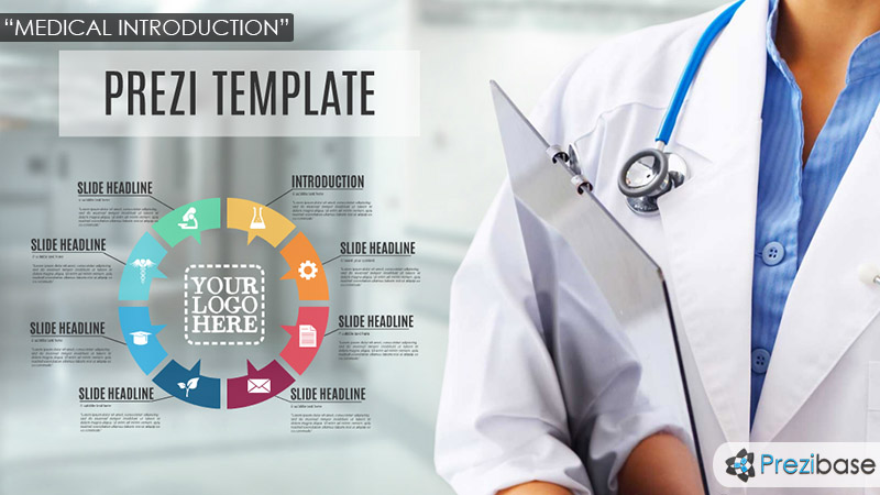 health template prezi  Medical Introduction Prezi Template | Prezibase