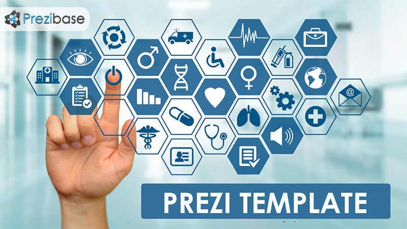 touchscreen – medical prezi template | prezibase, Powerpoint templates