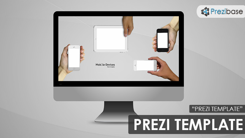 responsive mobile devices prezi template
