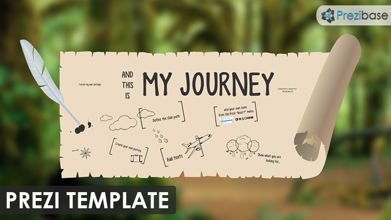 my journey papyrus storytelling prezi template