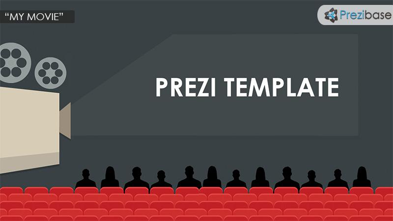my movie prezi template prezibase