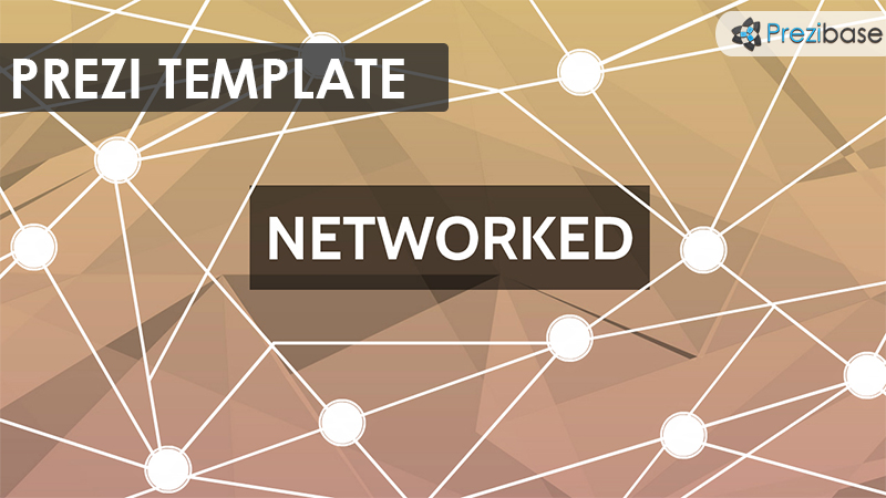 networked prezi template system it connections