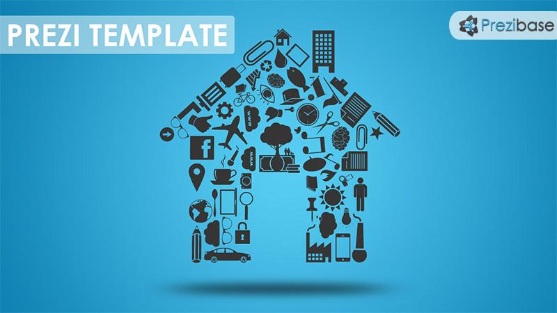 new home house real estate prezi template