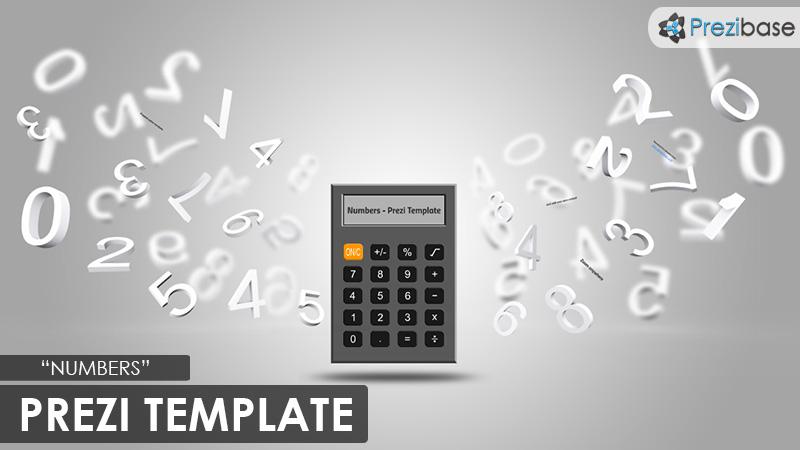 3d numbers calculator school math prezi template