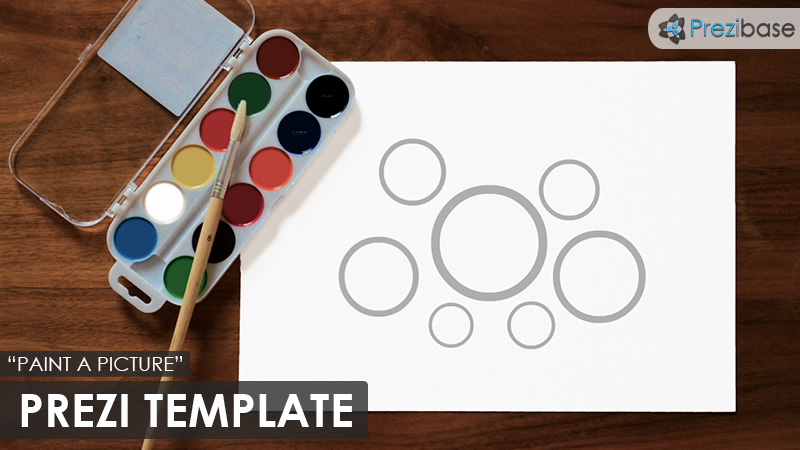 paint a picture art drawing prezi template