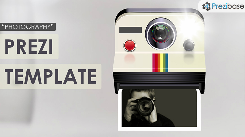 photography instagram selfie prezi template