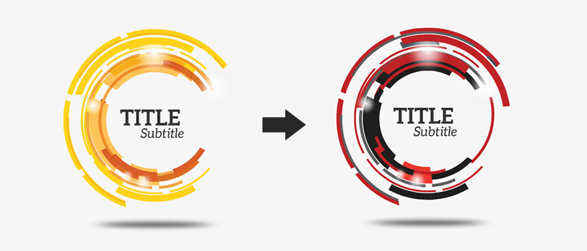 Prezi Template color customization service