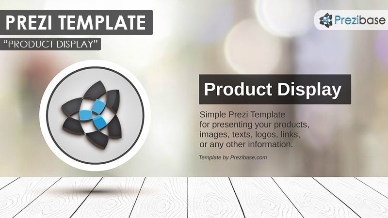Company business product display showcase