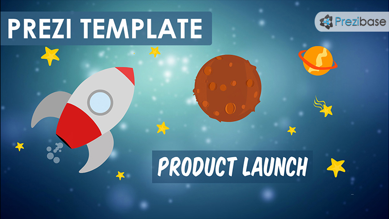 product launch startup business prezi template