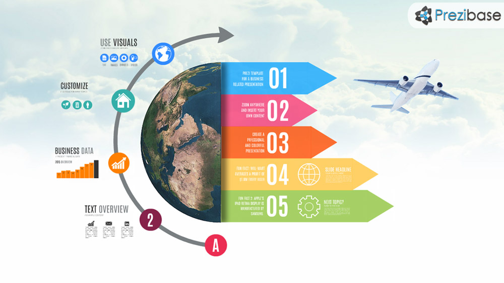 International business prezi template prezibase for Free prezi templates