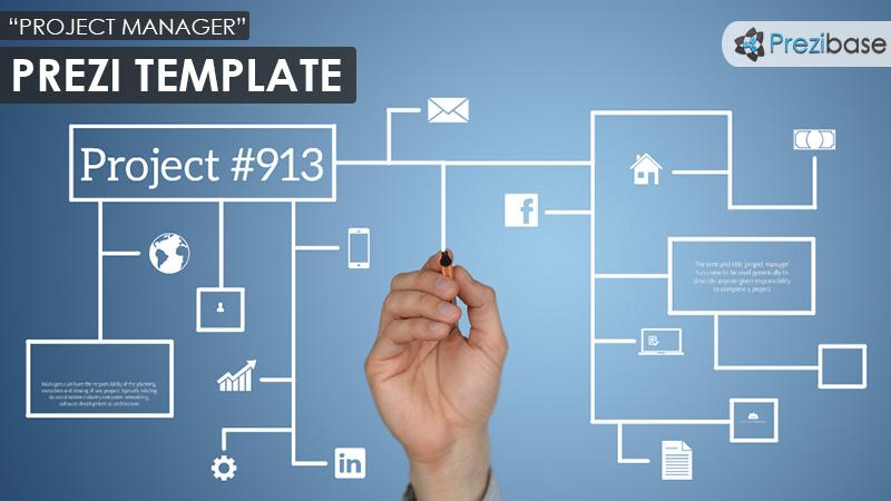 project-manager-diagram-sketch prezi template